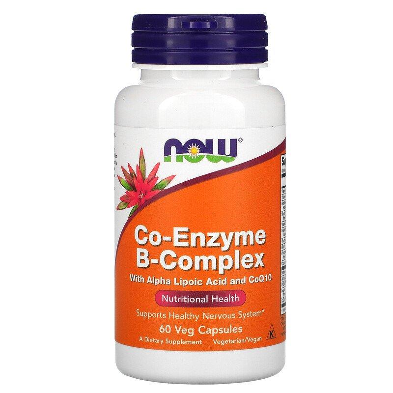 Co-Enzyme B-Complex - 60 Veg Capsules