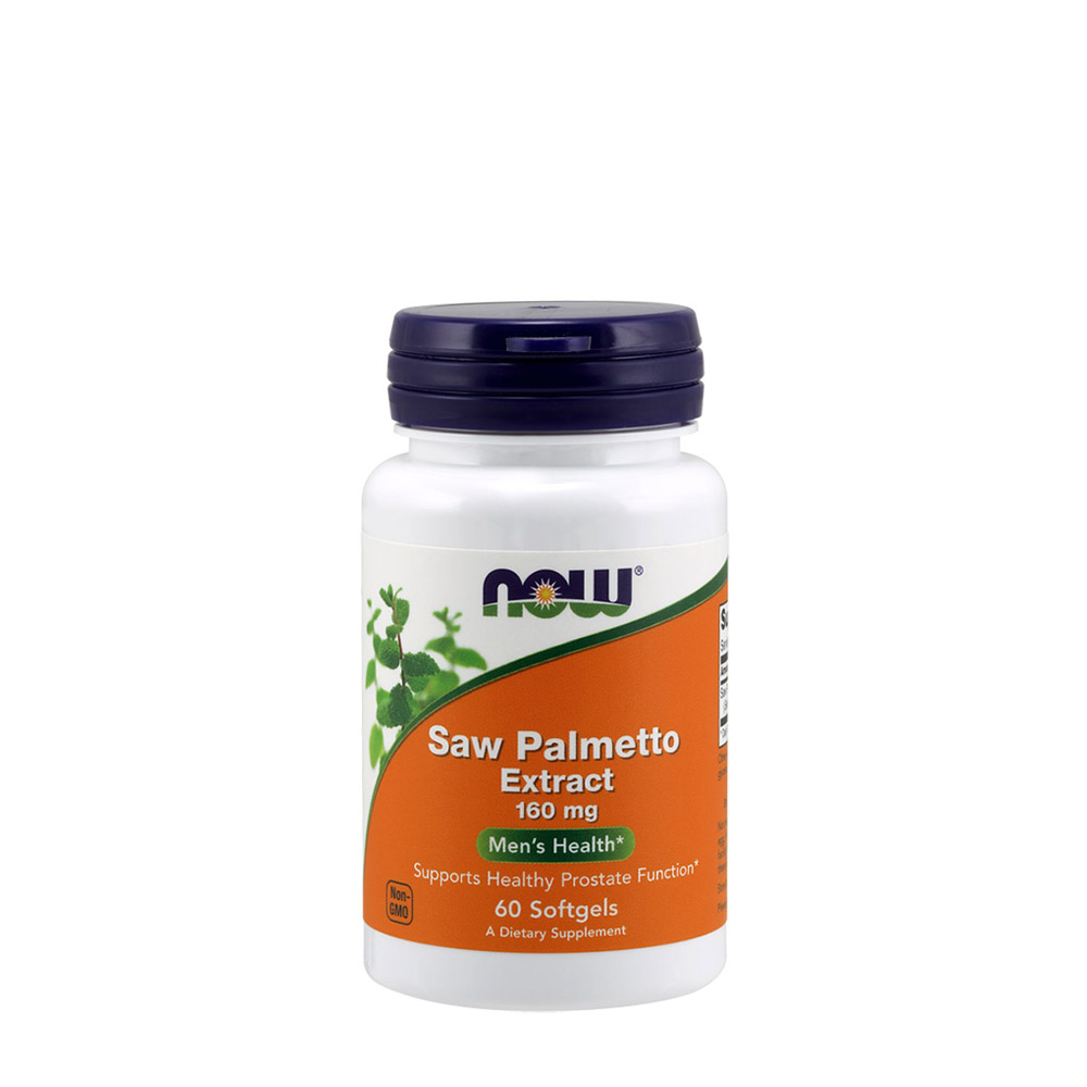 NOW Saw Palmetto Extract 160 mg - 60 Softgels