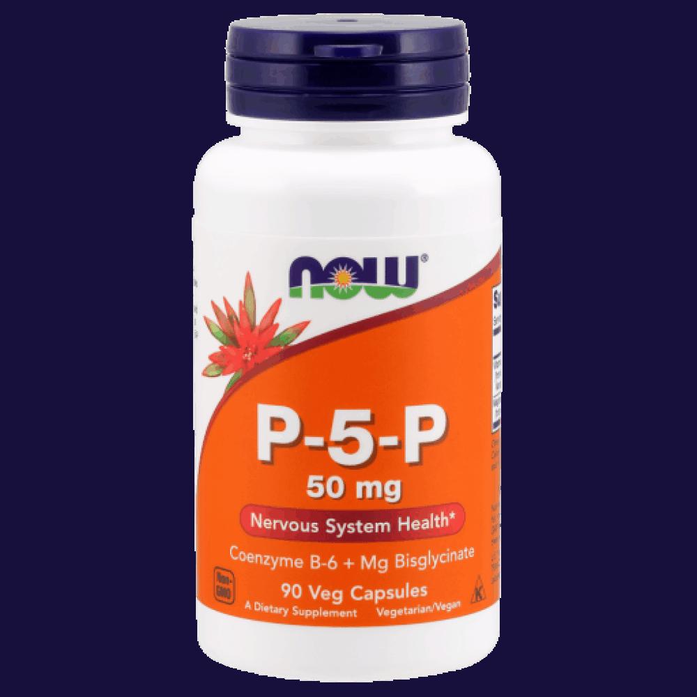 NOW_P-5-P_50 mg_90_Veg_Capsules