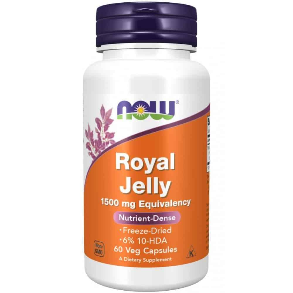 NOW_Royal_Jelly_1500_mg_60_Veg_Capsules